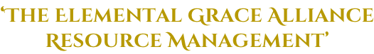 'The Elemental Grace Alliance Resource Management'